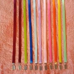Ribbon charm bookmarks