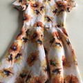 Elegant linen dress size 10