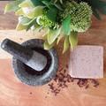 Natural Rose Geranium  Nerolina  Cedarwood  Handmade Soap.