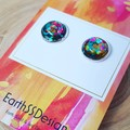 All That Glitters - Silver Plated Studs