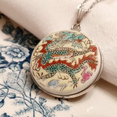 Oriental Dragon Pendant