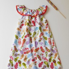 "Size 6 ""Fun with Thongs"" Dress"