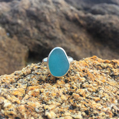 Hidden Lagoon Sea Glass Ring