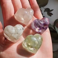 Crystal Heart Set