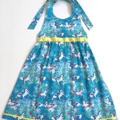"Size 6 ""Party Unicorns"" Party Dress"