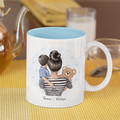 Mum Mothers Day Birthday Mother Personalised Ceramic Coffee Tea Mug Cup - CM034