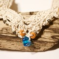 Oceania - Beautiful Hand Crocheted Necklace