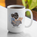 Mum Mothers Day Birthday Mother Personalised Ceramic Coffee Tea Mug Cup - CM034