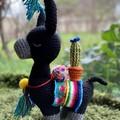 Soft & Cuddly Llama Alpaca Softie Crochet Llama Toy Stuffed Alpaca Toy Llama