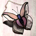 Butterfly Stained Glass Suncatchers in a variety of colours