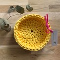 CHOOSE YOUR COLOUR | LARGE crochet baskets | essential oil storage
