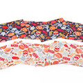 Australian native floral reversible placemat -  multi floral