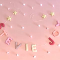 Felt Name Garland, Birthday name Garland, Children's wall decoration * Up to  10