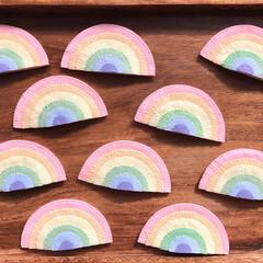 Pastel Loose Rainbows 10 pack
