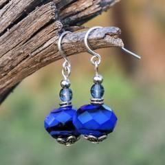Little Ultramarine Drop Earrings