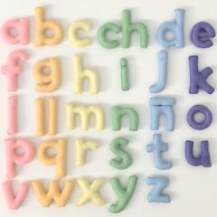 Spanish Version Lowercase alphabet