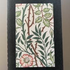 William Morris pocket notebook