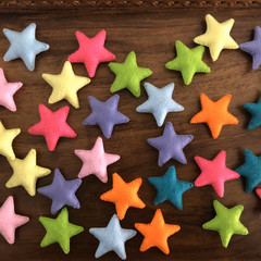 Loose parts Stars 10 pack