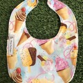 Ice cream Cones Bib ~ Iceblocks ~ feeding Bib