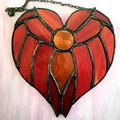 Angels in Stained Glass Suncatcher, variety of colours