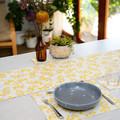 Australian native floral reversible table runner - Wattle & Waratah