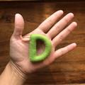 Single Felt alphabet letter