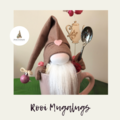 Nisse / Gnome - 'Rooi' - 28cm - FREE SHIPPING