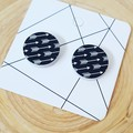 Wooden Stud Earrings