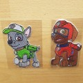 """Patrol Dogs"" Iron-on Badge"