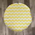 Play mat bag  -Yellow Zigzag