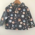"""""""Planets and Moons"""" Hoodies - sizes 1 to 4 yrs"""