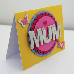 Card for Mother's Day, Mothers Day, Mum birthday card, birthday card mum