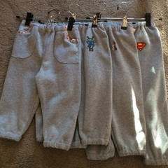 Toddlers fleece trackie pants - sizes 2 to 4 yrs
