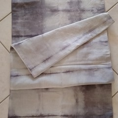 Pearl Grey Linen Table Runner