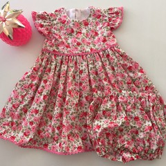 "Size 6 ""Sunshine Roses"" Party Dress for Babies"