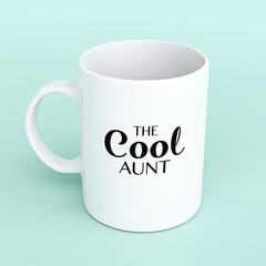 Mug for Aunt, Auntie mug, funny mug for Aunt, the cool aunt mug