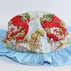 Sunny Day Sun Hat. Sizes 6-12 months & 1-3 years