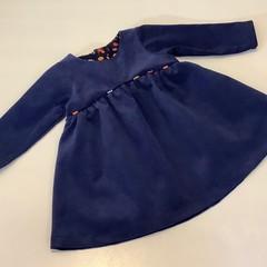 Toddler dress, long sleeved corduroy - size 3