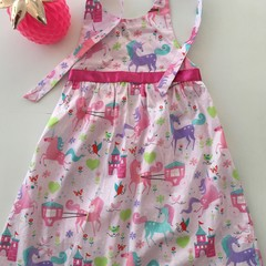 "Size 6 ""Unicorn Wonderland"" Party Dress"