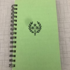 Heidi Grows Up - Upcycled Notebook