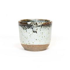'Snowdrift' blue grey espresso coffee or tea cup