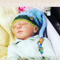 Beanie, Pixie Style for Baby/Reborn/Doll/Teddy