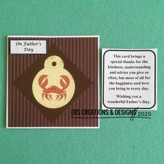 Father's Day Card with Verse