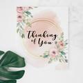 Miss you card, thinking of you card, sympathy card, condolence card