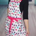 Pink Sweet Heart Ladies Apron FREE Tracked Post!