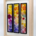 Three Of Bubbles Wax Painting Light Box