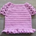 Crochet Top - 3-6 months