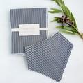 Burp Cloth + Bib Set - Boy/Neutral