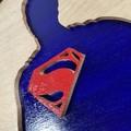 Superman- Superheroes - Framed Wooden Hanging Artwork