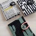 Tea wallet - tea bag holder gift idea, picnic - volkswagen beetle, text, cactus